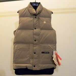 Canada Goose 4125M R Men's Freestyle Vest - Tan